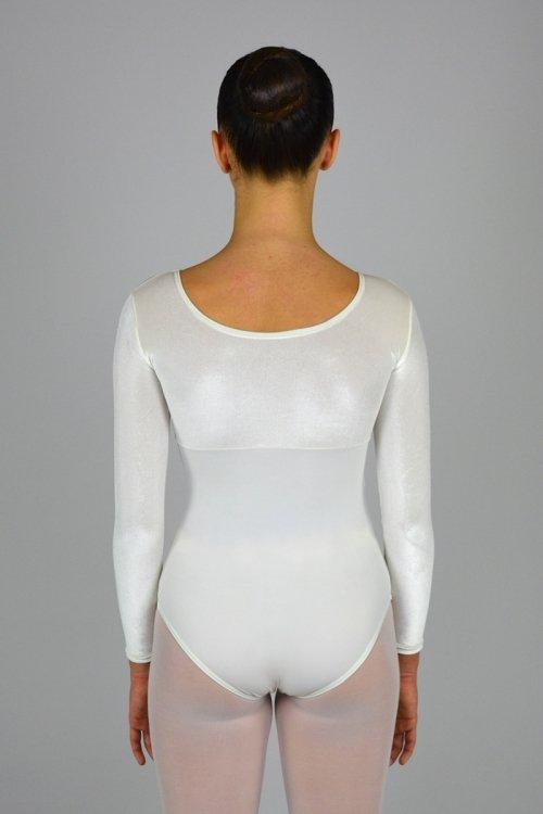 100/C Body a manica lunga. Parte superiore in ciniglia prodotti    Atelier della Danza