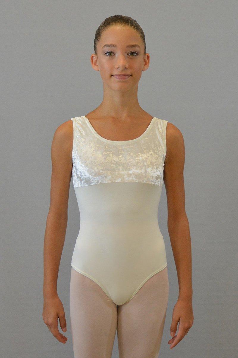 101/C Body a spalla larga. Parte superiore in ciniglia prodotti    Atelier della Danza
