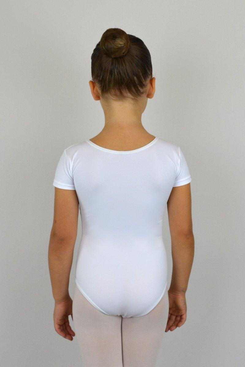102/A Body a mezza manica. Velluto sotto seno davanti prodotti    Atelier della Danza