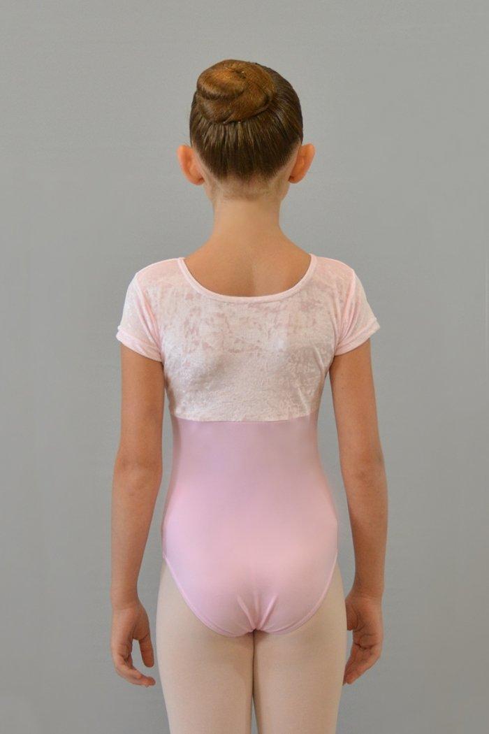 102/C Body a mezza manica. Parte superiore in ciniglia prodotti    Atelier della Danza