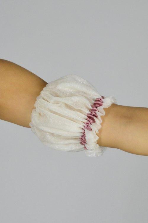 1030 Manicotti con elastico sopra e sotto + balza. prodotti    Atelier della Danza