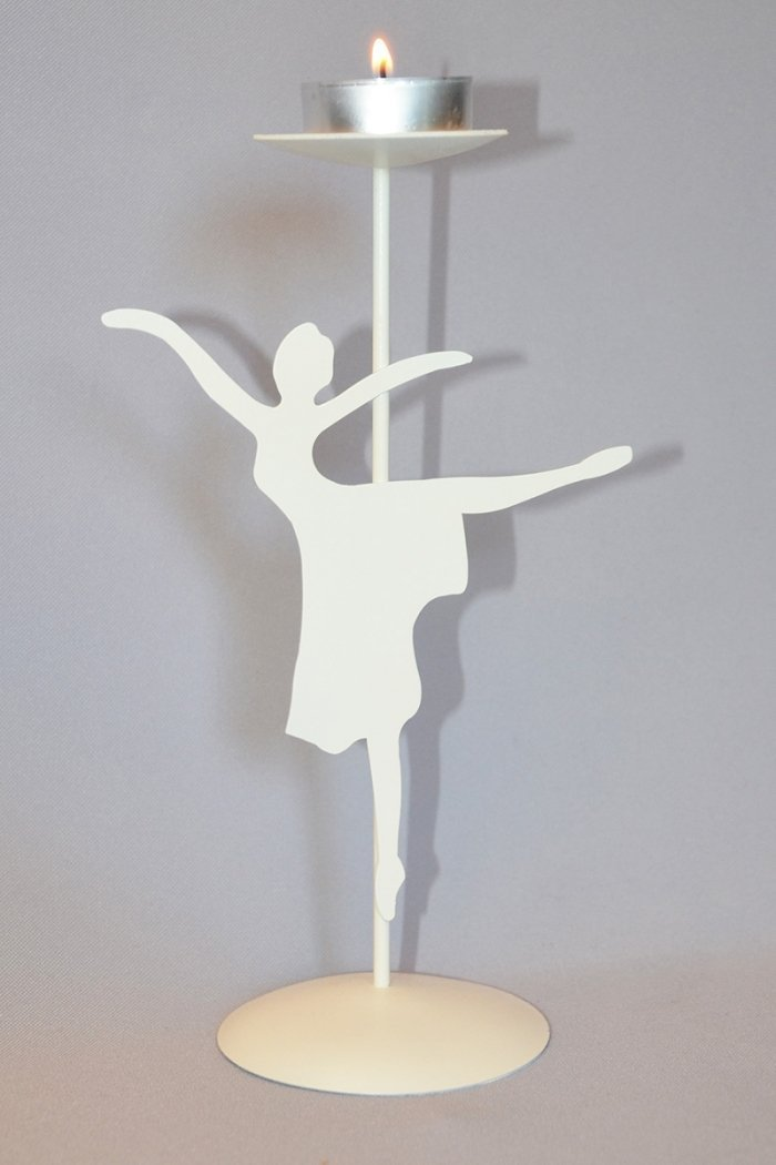1031 Portacandele in ferro prodotti    Atelier della Danza