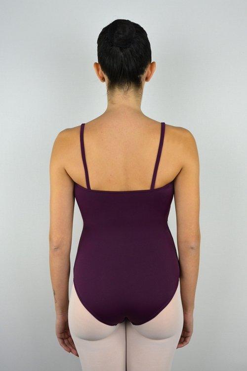 103/A Body con bretelle sottili. Velluto sotto seno davanti prodotti    Atelier della Danza