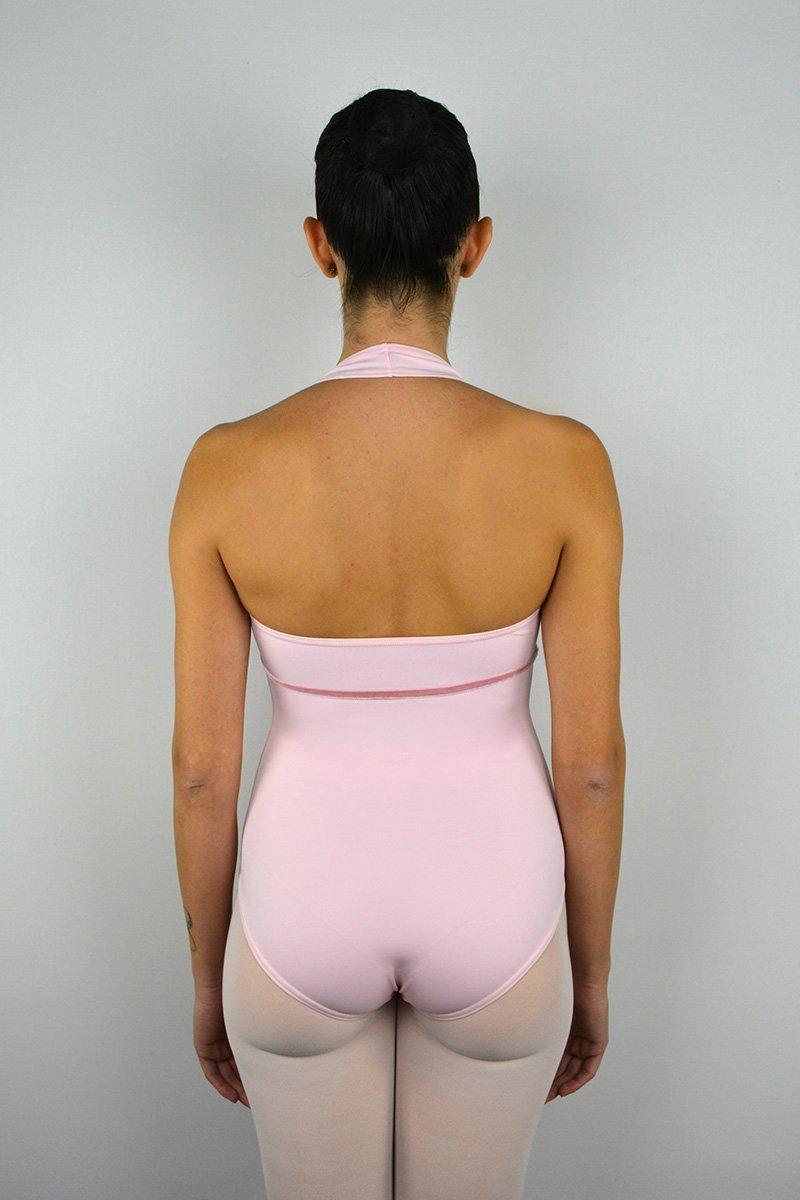 """109 Body """"americano"""" con rifinitura in velluto sotto il seno prodotti    Atelier della Danza"""