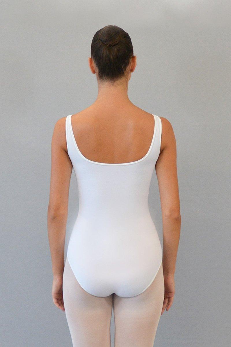 112/A Body con spalla sottile. Velluto sotto seno davanti prodotti    Atelier della Danza