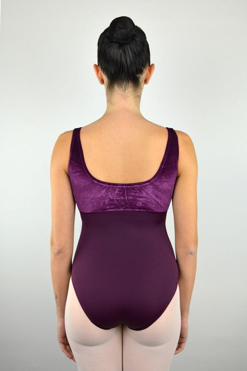 112/C Body con spalla sottile. Parte superiore in ciniglia prodotti    Atelier della Danza