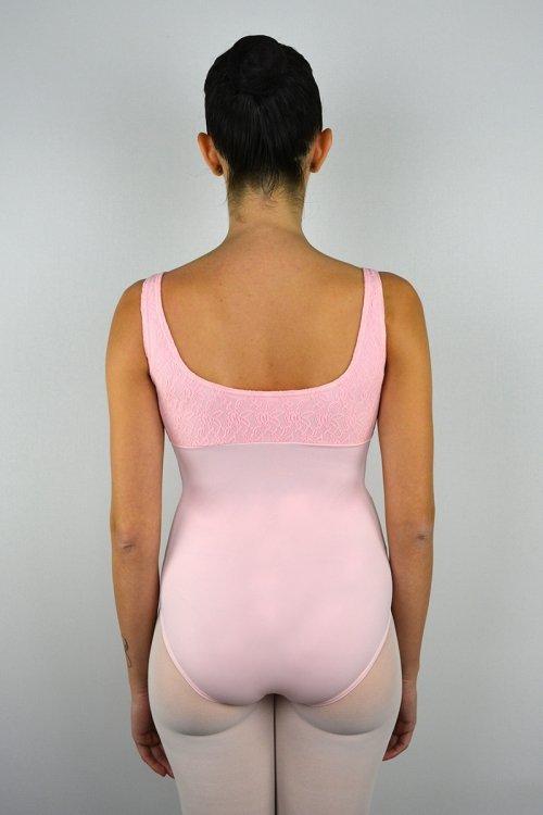112/Z Body con spalla sottile. Parte superiore in pizzo prodotti    Atelier della Danza