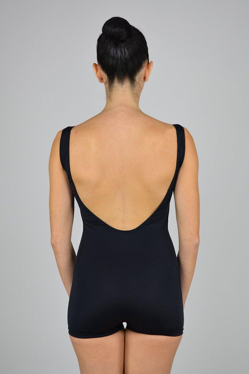 gamba corta. Scavo profondo schiena. prodotti    Atelier della Danza