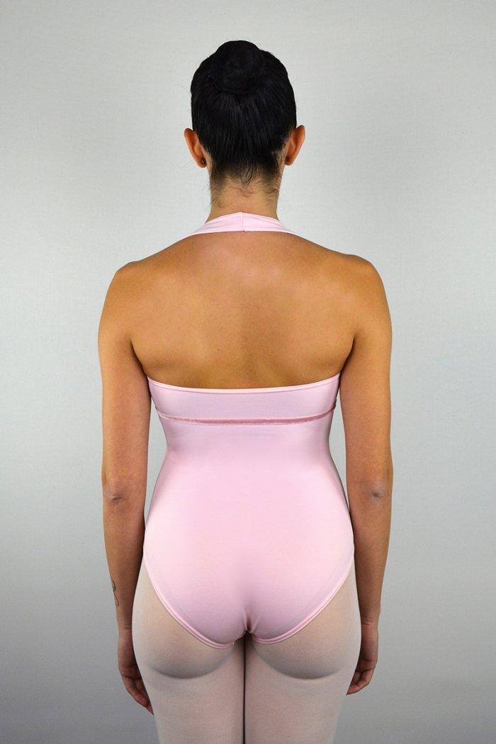 """118 Body""""americano"""" con rifinitura sotto il seno. Scavo seno a V prodotti    Atelier della Danza"""
