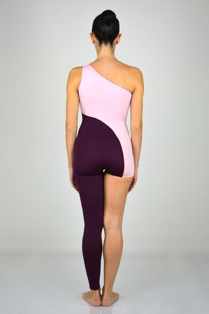 con una gamba lunga e l'altra corta. Bicolore. prodotti    Atelier della Danza
