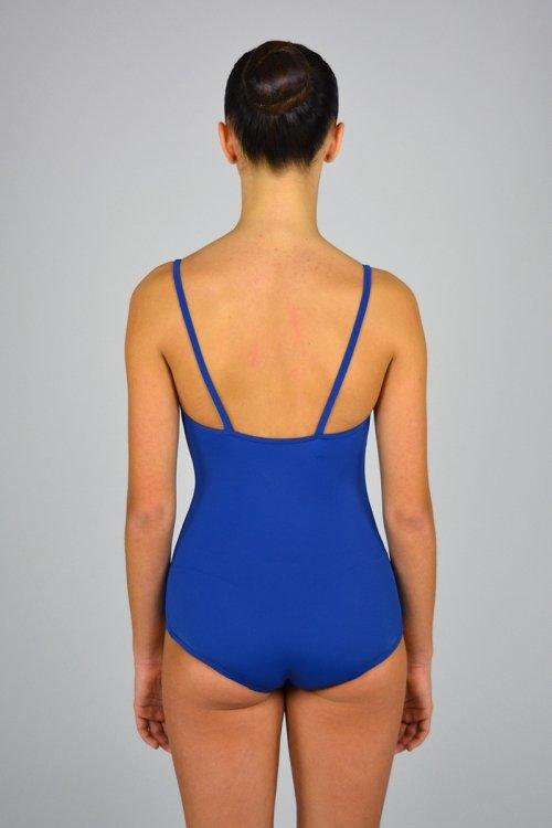 """127 Body a coulotte """"anni 50"""" con bretelle sottili. Scavo profondo schiena. prodotti    Atelier della Danza"""