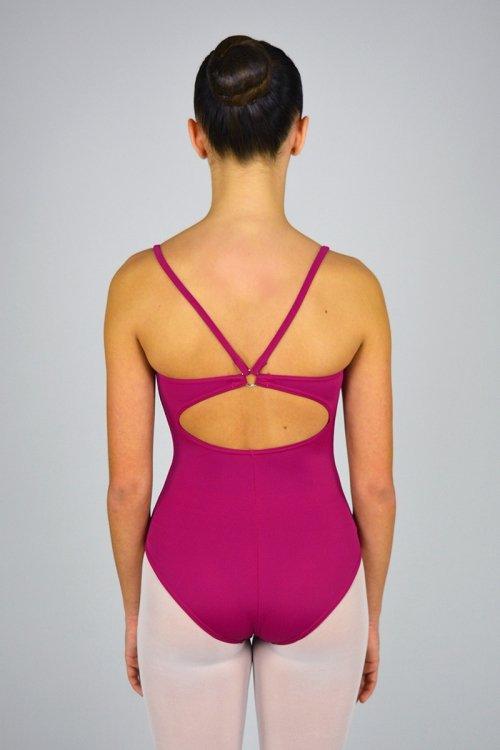 179 Body con bretelle sottili e anella nella schiena prodotti    Atelier della Danza