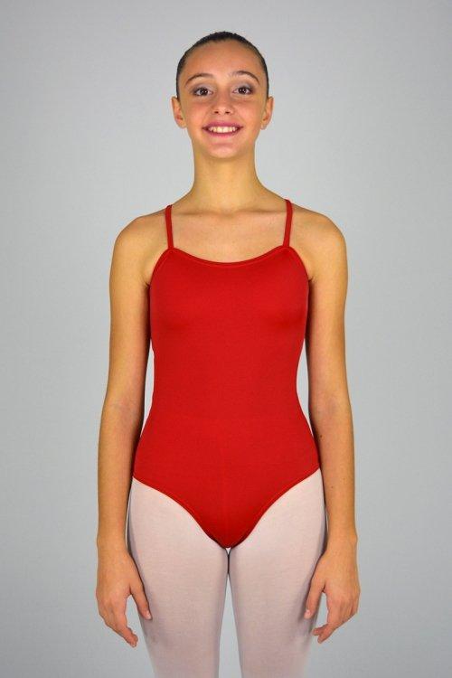 180 Body con bretelle sottili. Buco nella schiena prodotti    Atelier della Danza