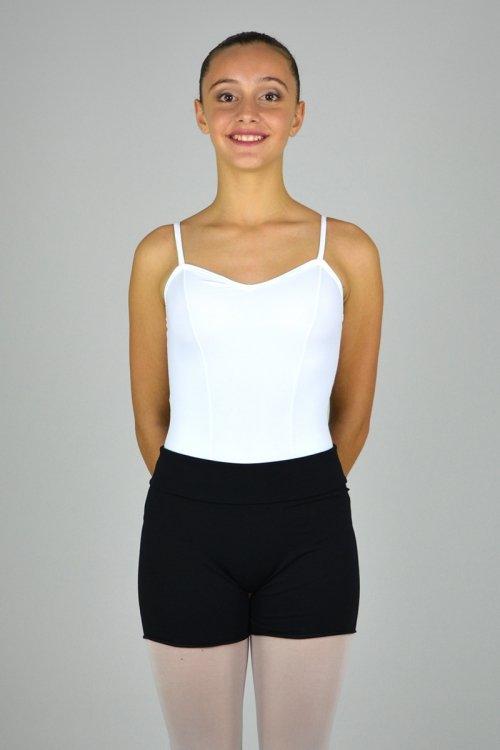 193 Pantaloncino in felpa da riscaldamento con vita alta prodotti    Atelier della Danza