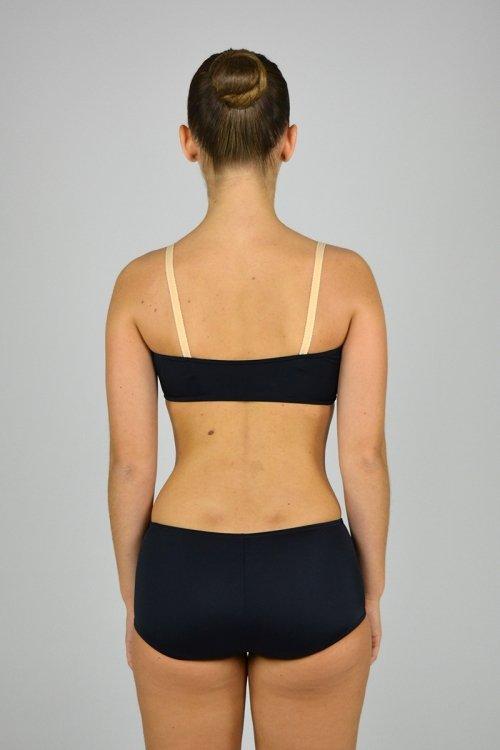 208 Fascia seno con bretelle in elastico carne. prodotti    Atelier della Danza