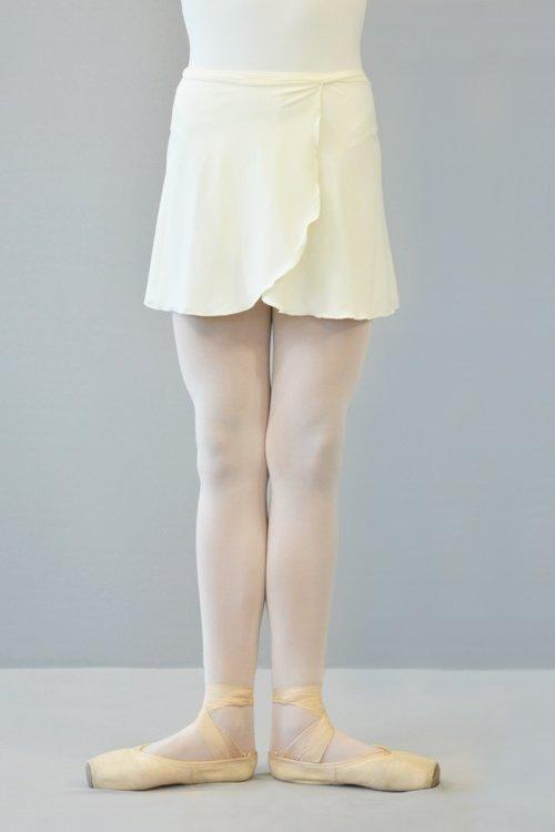 2194 Gonnellina incrociata con laccetti. prodotti    Atelier della Danza