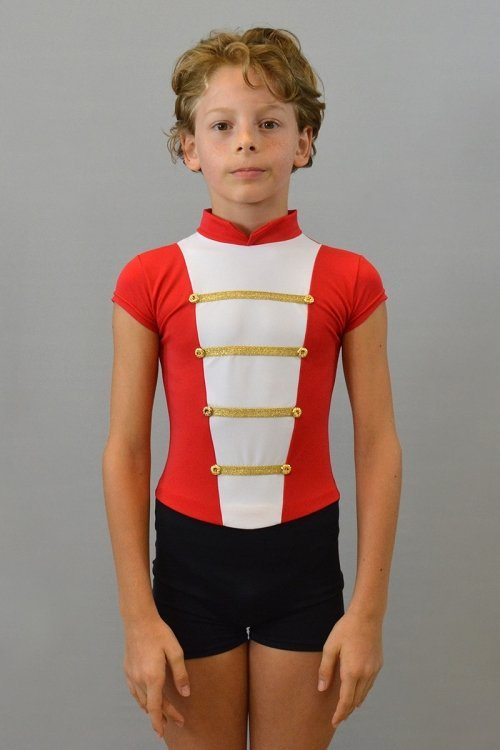 Soldatino - Mod. 3000 Mod. 3000 - Tuta con rifiniture sul torace con passamaneria Oro o Argento. prodotti    Atelier della Danza