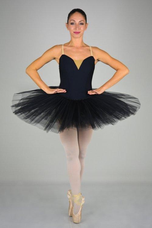 319 SEMIPROFESSIONALE - Gonna in tulle rigido - 7 strati - 30-35-38 cm prodotti    Atelier della Danza