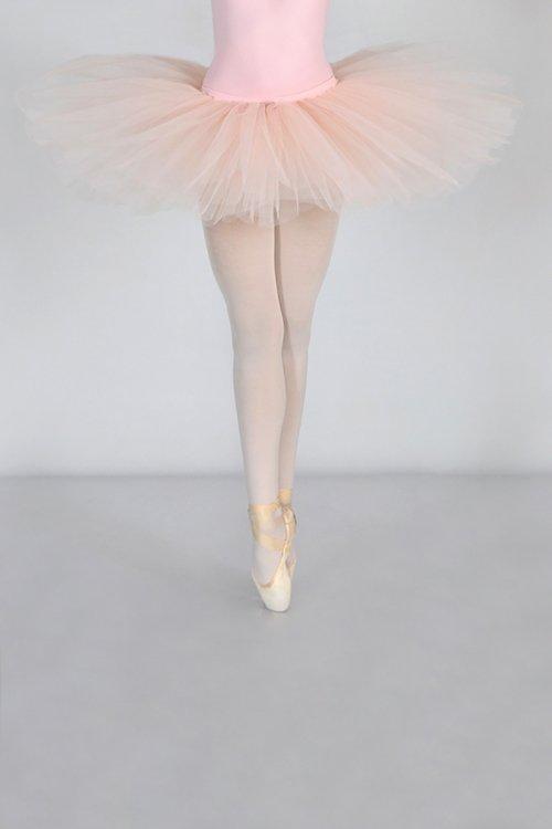 3438 Mutanda SEMIPROFESSIONALE con gonna in tulle rigido - 9 strati - 30-35-38 cm prodotti    Atelier della Danza