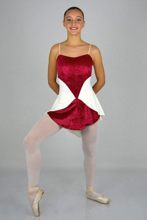 Regina di Cuori Mod. 4010 - Abito con body. prodotti    Atelier della Danza
