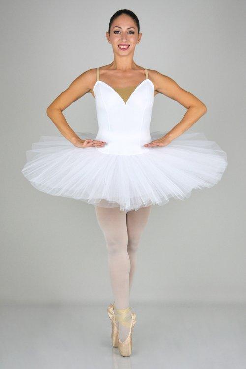 438 SEMIPROFESSIONALE - Gonna in tulle rigido - 9 strati - 30-35-38 cm prodotti    Atelier della Danza