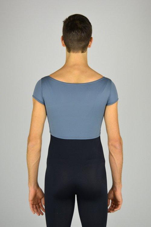 567 Argentina: maglia corta con scavo a barchetta davanti e dietro. prodotti    Atelier della Danza
