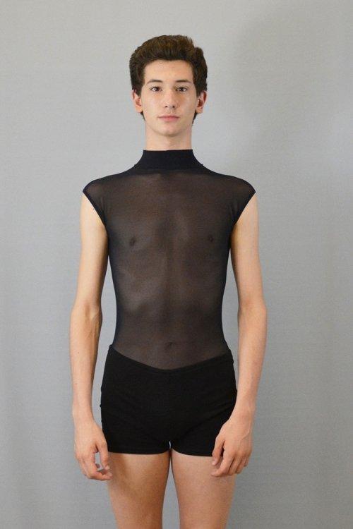 579 Body smanicato con collo a lupetto. prodotti    Atelier della Danza