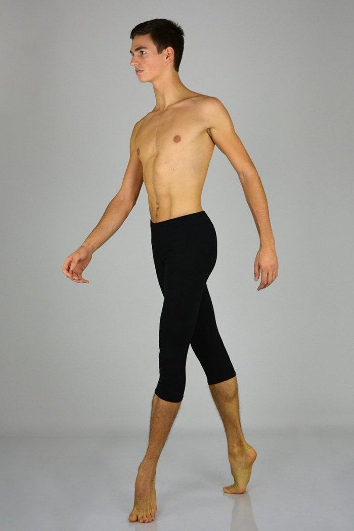 708UOMO Panta-fuseaux con gamba al polpaccio prodotto atelier della danza