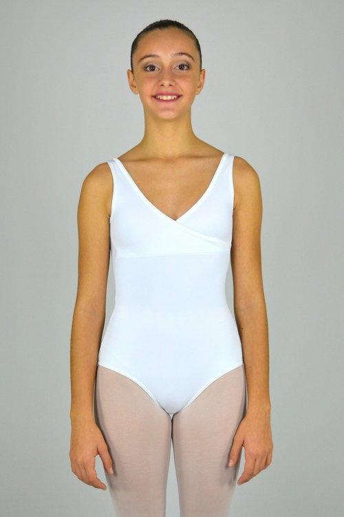 8009/A Body con incrocio sul seno. Dietro