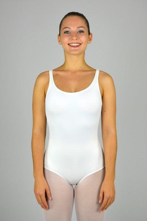 8021 Body con spalla sottile e scavo nella schiena prodotti    Atelier della Danza