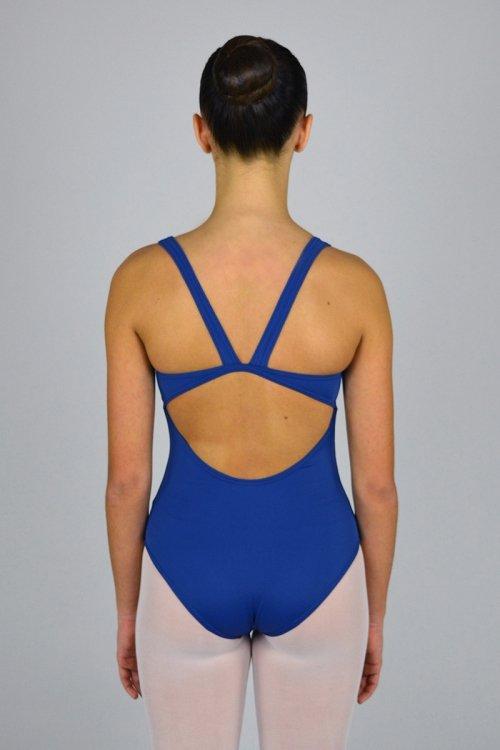 8021/A Body con spalla sottile e scavo nella schiena. Velluto sotto il seno davanti prodotti    Atelier della Danza
