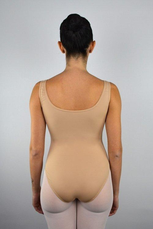 8064 Body con spalla sottile. SGAMBATURA ALTA prodotti    Atelier della Danza