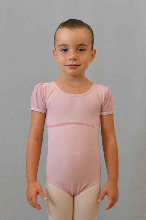 8093/A Body con manichina in retina. Buco sulla schiena. Velluto sotto seno davanti prodotti    Atelier della Danza