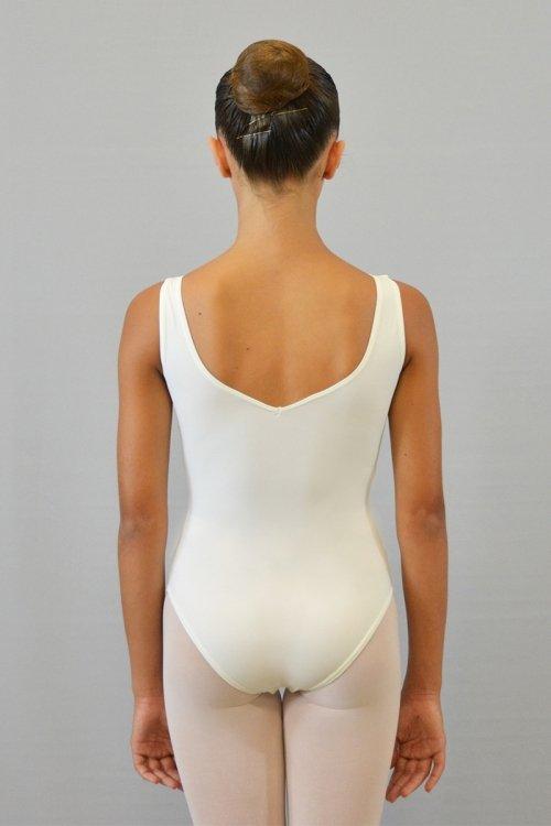 8118/C Body con incrocio sul seno. Parte superiore in ciniglia prodotti    Atelier della Danza