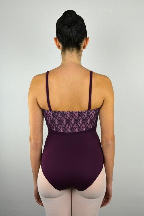 8165/Z Body con bretelle sottili. Taglio sotto il seno. prodotti    Atelier della Danza