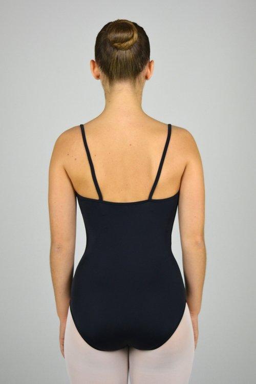 8197/Z Body a bretella sottile. Arricciatura sul seno. Parte superiore in pizzo prodotti    Atelier della Danza