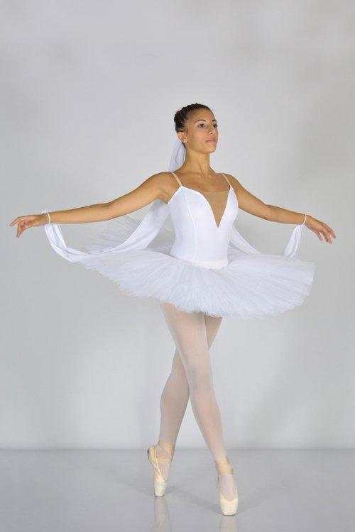 951 TUTU' PROFESSIONALE - Gonna in tulle rigido - 9 strati - 30-35-38 cm prodotti    Atelier della Danza