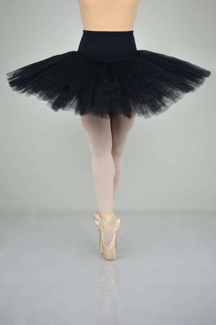 9951ALTA Mutanda PROFESSIONALE con gonna in tulle rigido - 9 strati - 30-35-38 cm prodotti Atelier della Danza