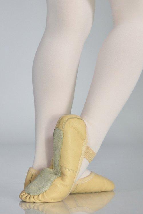 C201 Mezze Punte - IN PELLE - Suola intera prodotti    Atelier della Danza