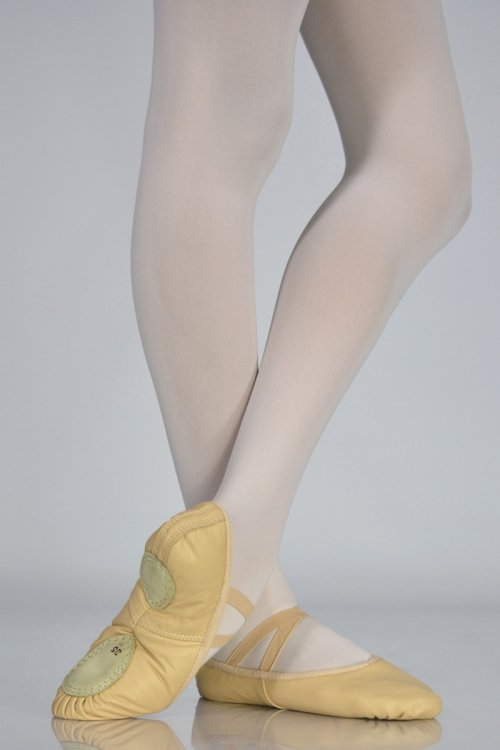 C202 Mezze Punte - IN PELLE - Suola Spezzata prodotti    Atelier della Danza